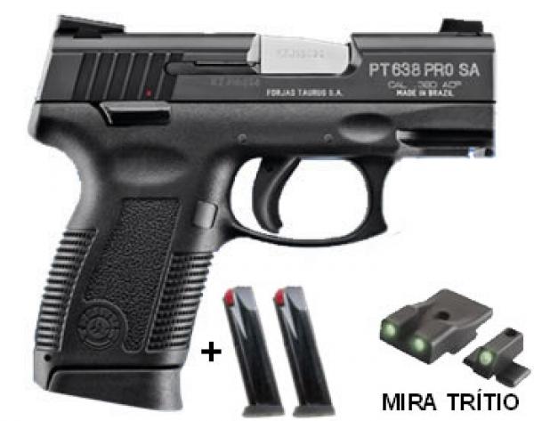 PISTOLA TAURUS PT-638